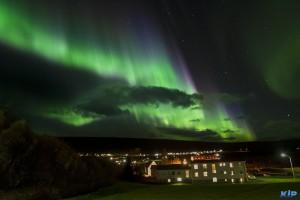 Aurora Borealis in Laugar